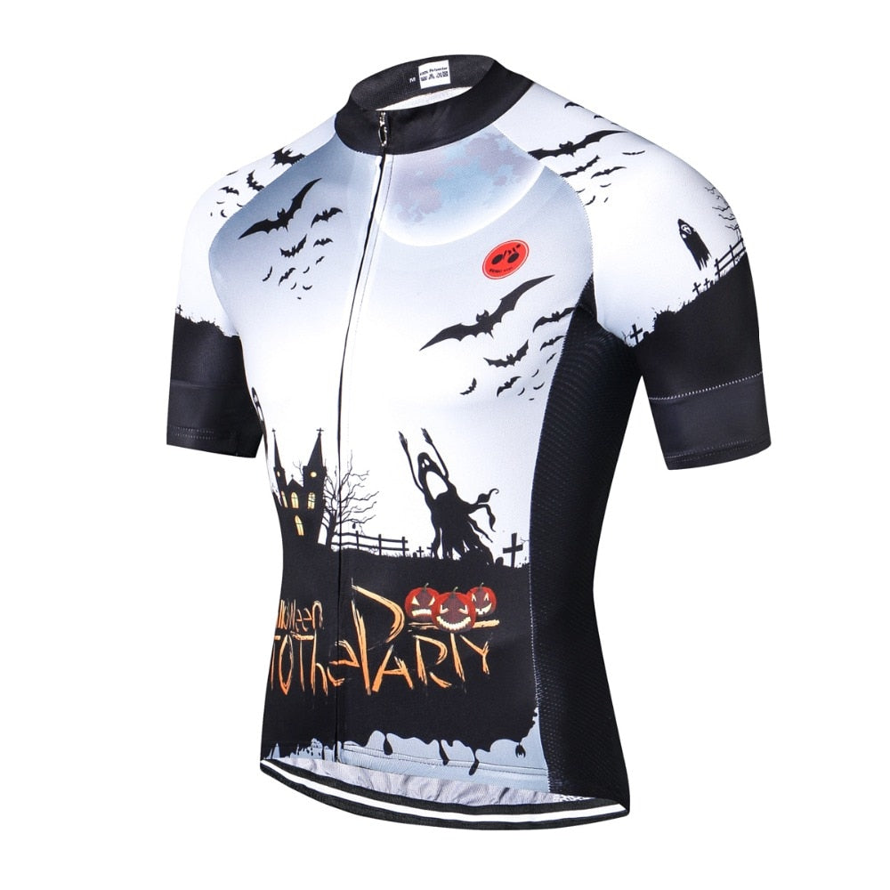 Halloween Party Style Cycling Jersey Set