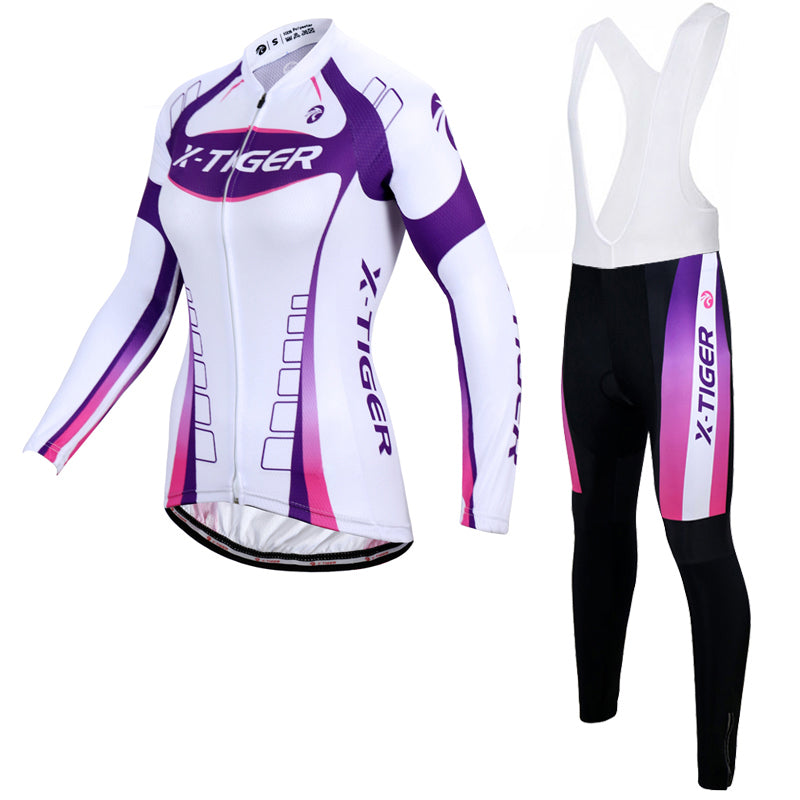 X-Tiger Autumn Breathable Women Cycling Clothing MTB Bicycle Wear Ropa  Ciclismo Race ... 9d1956606