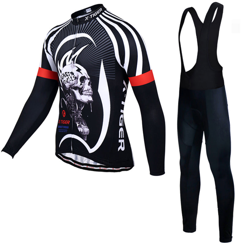X-Tiger Winter Thermal Fleece Cycling Jersey Set Maillot Ropa Ciclismo Super Warm MTB Bike Wear Bicycle Clothing Cycling Set