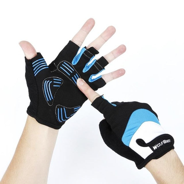 Half Finger Anti-slip Anti-sweat Cycling Gloves
