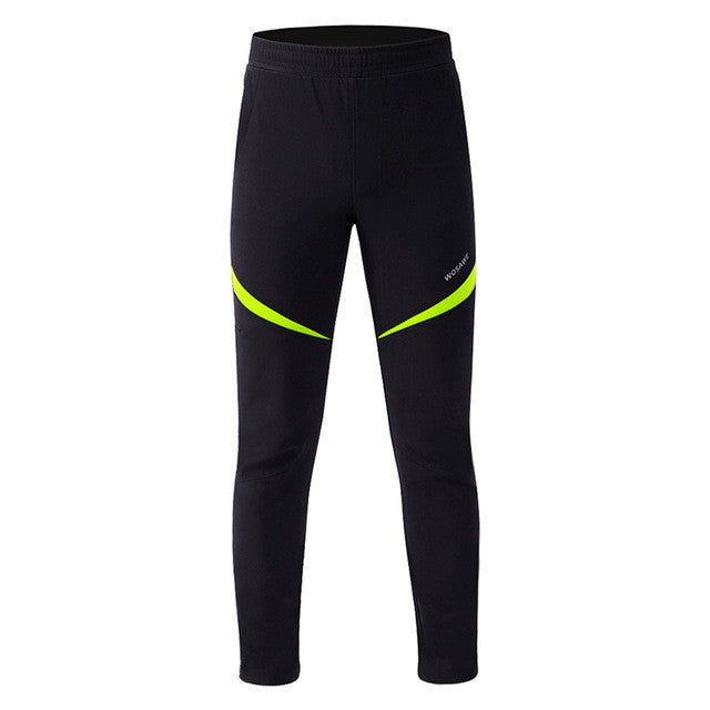 WOSAWE Brand New Men' Thermal Winter Cycling Pants Waterproof Bike/Bicycle Sports Running Windproof Cycle Trousers