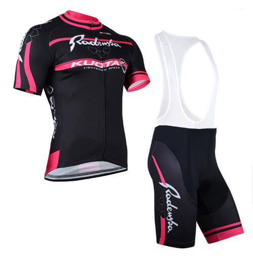 Cycling Jersey Bibs with gel pad