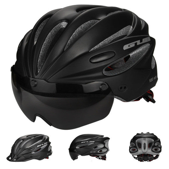 Ultralight Magnetic Goggles Cycling Helmet
