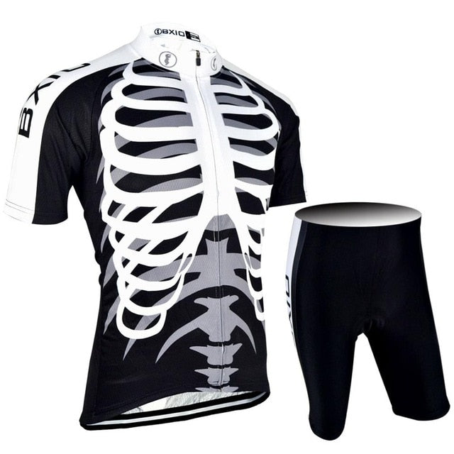 Skeleton Cycling Jersey Set