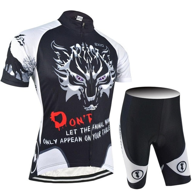 Wolf Design Cycling Jersey Sets