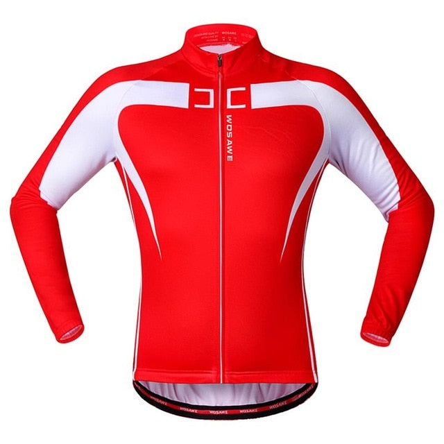 Winter Thermal Fleece Cycling Jacket