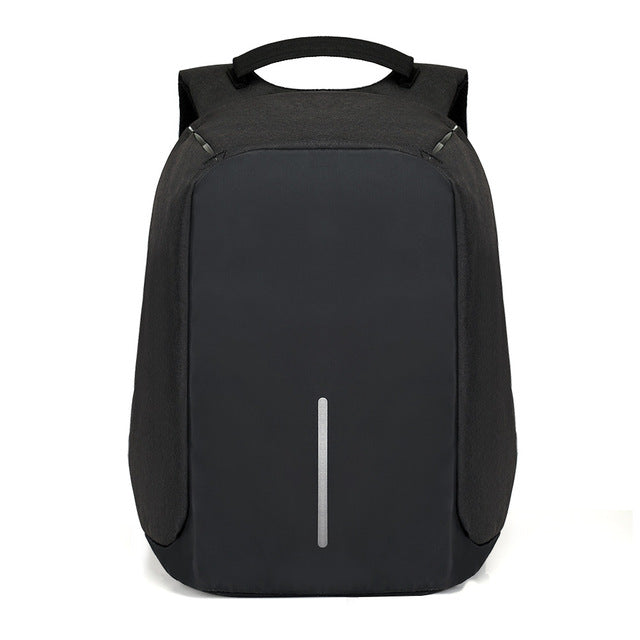 Anti - theft Waterproof backpack with USB external charger