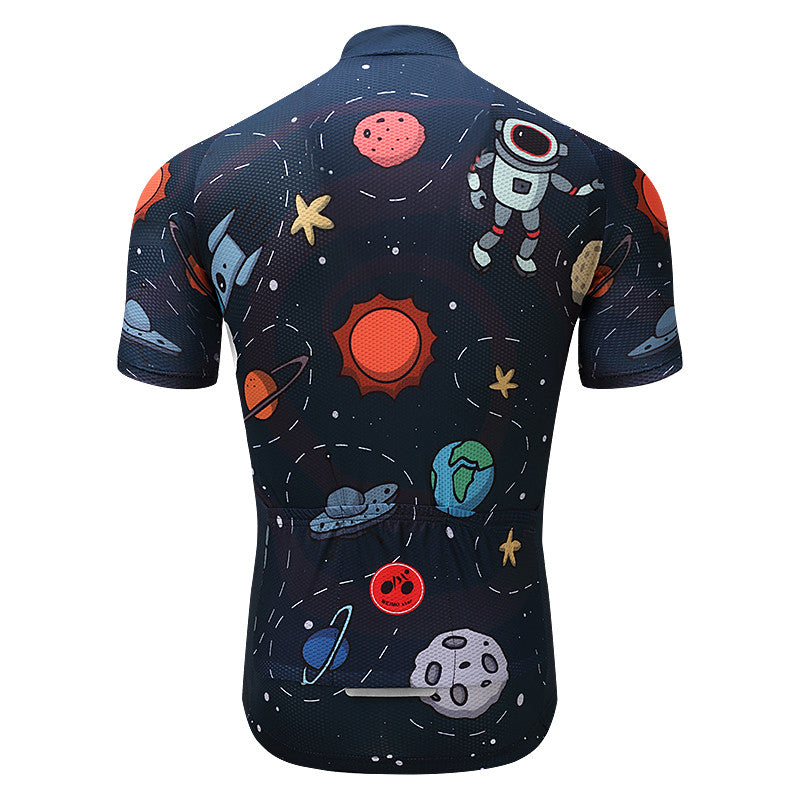 Breathable Short Sleeve Cycling Jersey Top