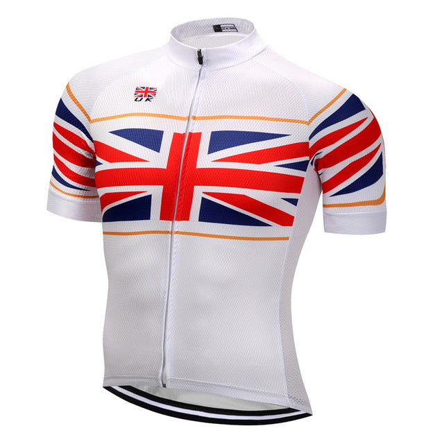 2018 Breathable Professional Countries Cycling Jersey