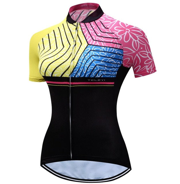 Breathable Women cycling jerseys