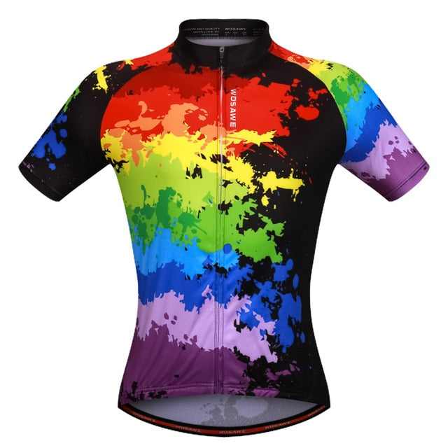 Colorful Cycling Jersey for summer