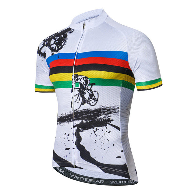 Breathable Mountain Bike Cycling Shirt Jersey