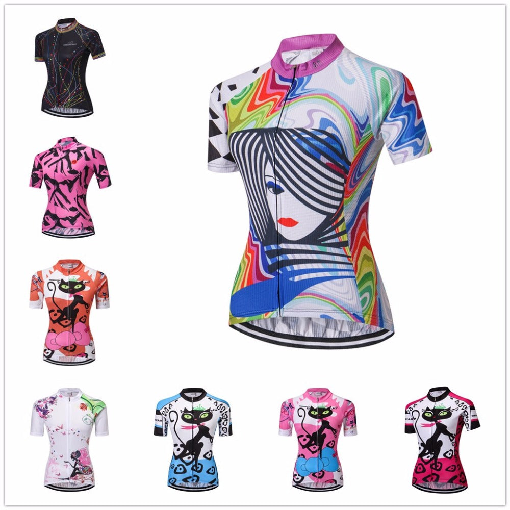 2018  Short Sleeve women's  Cycling Jersey