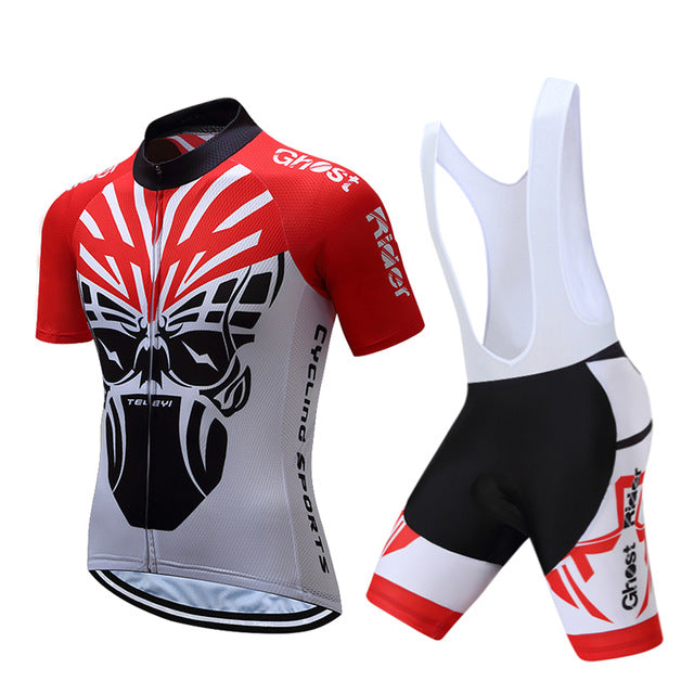 2018 Breathable Mountain Bike Cycling Jersey set