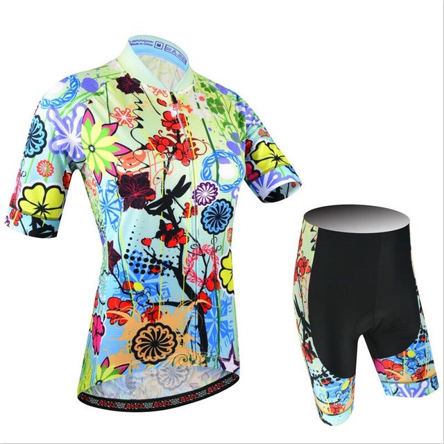 Double Lycra Flat Stitching MTB Cycling Jerseys