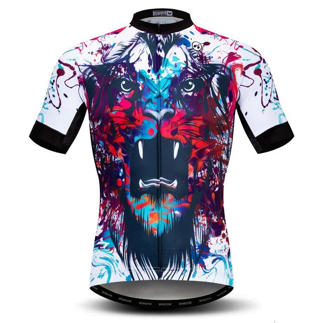 3D Roar Wolf Cycling Jersey