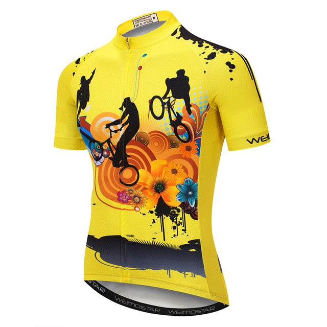 Summer Mountain Bicycle Jersey Shirt