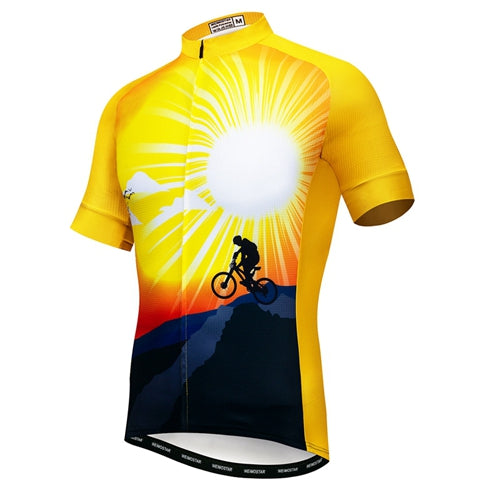 MTB Cycling Jersey Short Sleeve
