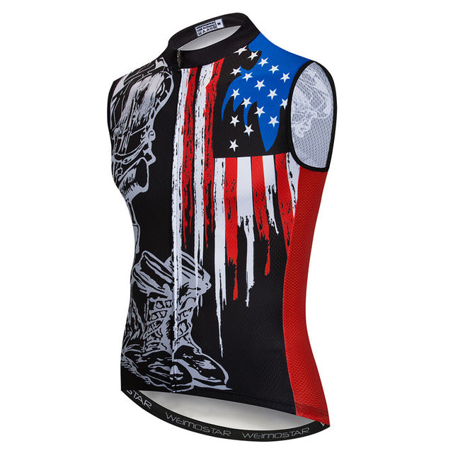 USA Team Reflective Cycling Vest