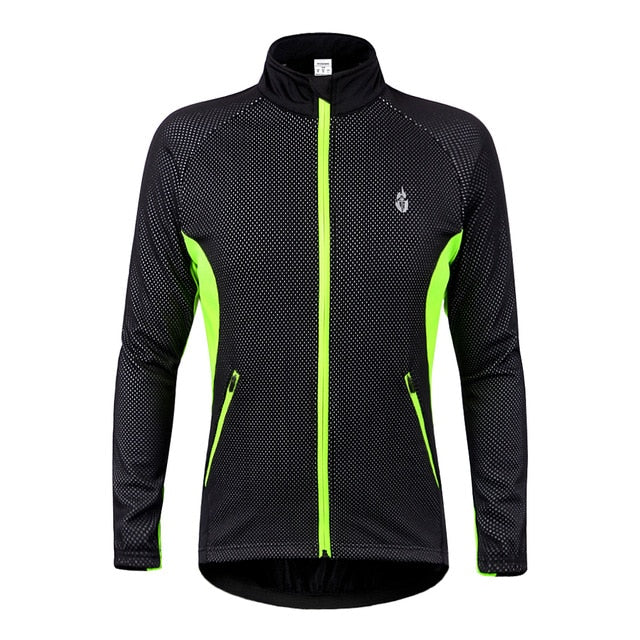 Winter Fleece Thermal Cycling Jacket