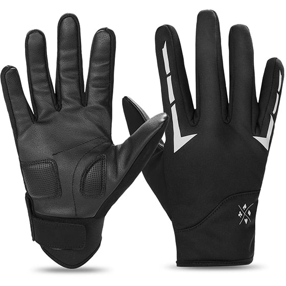 Winter Fleece Full Finger Bicycle Gloves