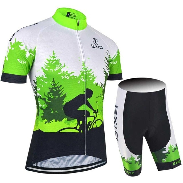 Fluorescence Men Cycling Jerseys