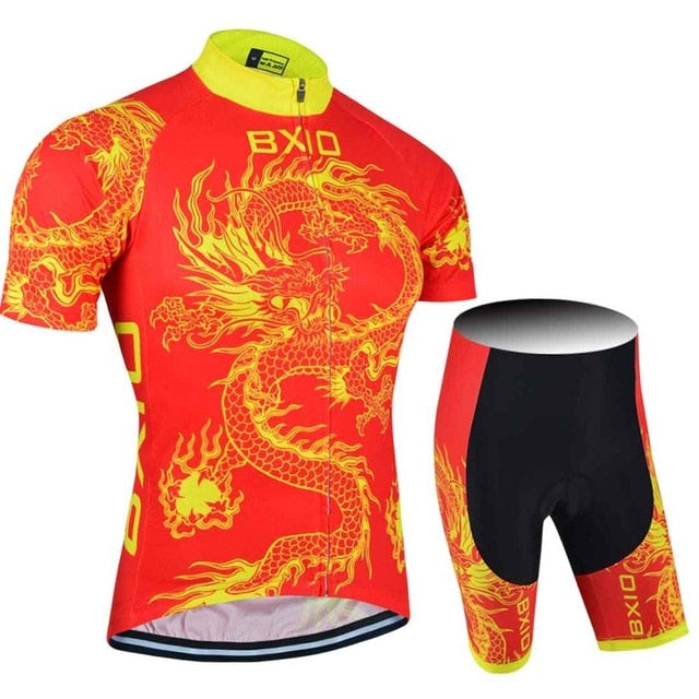 Dragon Style Cycling Jersey Sets