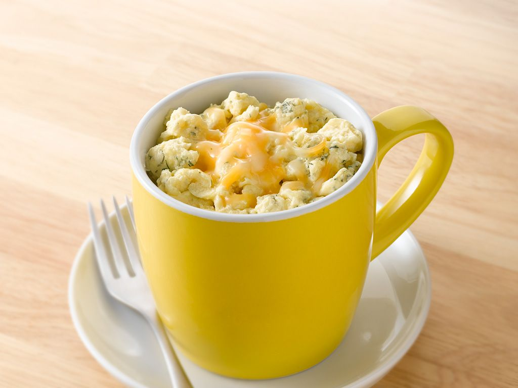Cheesy Egg Whites Mug