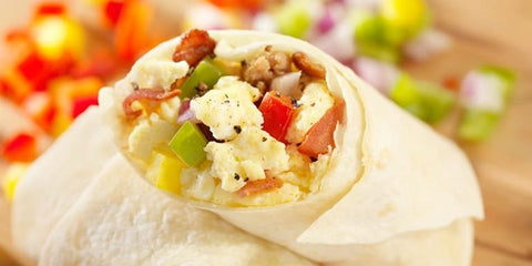 Egg White Breakfast Burrito