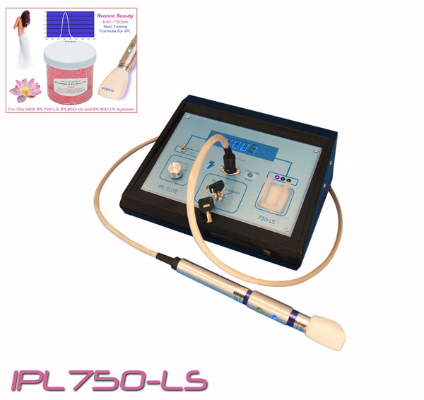 IPL750 Toning & Tightening System 640-780nm with Beauty Treatment Equipment