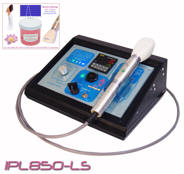 IPL850 Toning & Tightening System 640-780nm with Beauty Treatment Equipment