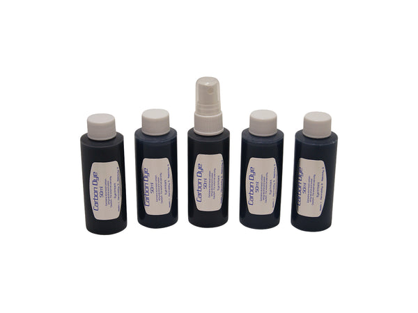 Carbon Dye 250ml for use with all laser and IPL epilation systems.