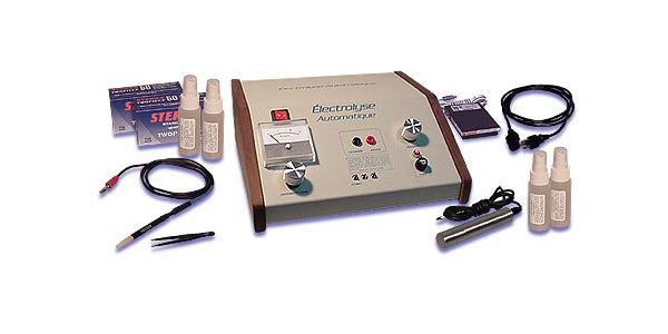 Salon Medispa Deluxe Electrolysis Machine Permanent Body & Facial Hair Removal System.