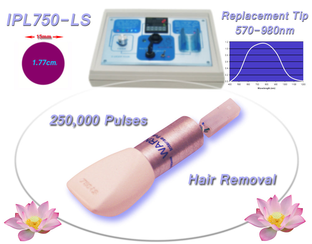 Permanent Hair Removal 570-980nm Filtered Tip for Beauty Treatment Machines, Systems, Devices