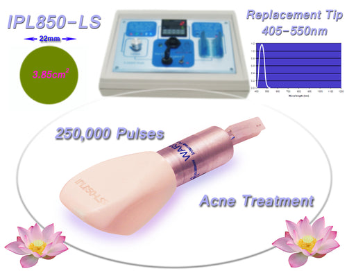 Acne 400-505nm Filtered Tip for Beauty Treatment Machine, System, Device.