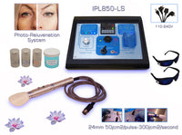 IPL850 Photorejuvenation System 505-670nm with Beauty Treatment Kit, Including Machine, Eyewear, Gel Kit, Instructions