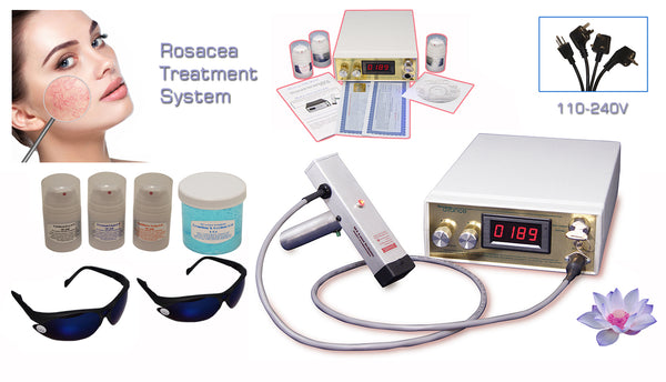 Rosacea Treatment Device For At Home Clinic Or Salon Treatments