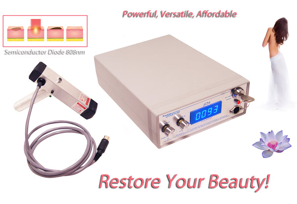Permanent Hair Removal Laser System for Men & Women, Best Home Use Machine