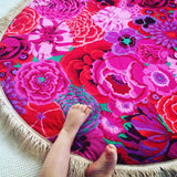 Summer Floral Play Mat