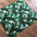 Green and White Outdoor Play mat