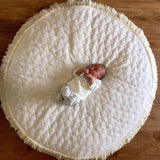 Premium milk quilt play mat