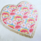 Lotus Flower Heart Play Mat