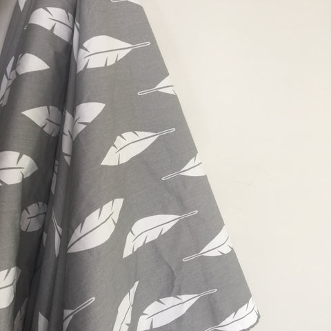 Grey Feather Baby Play Mat