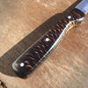Fillet Knife--Black Scale Handle-- 16""