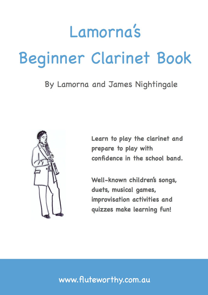 Lamorna's Beginner Clarinet Book