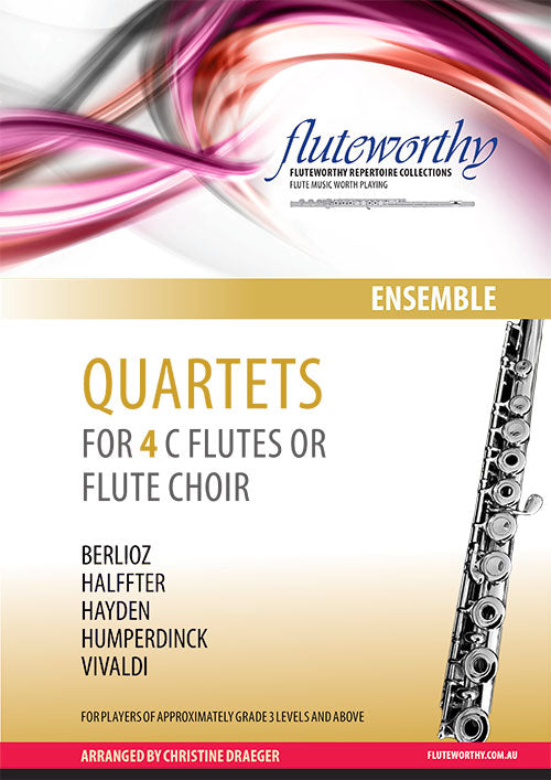 Quartets for Four C Flutes