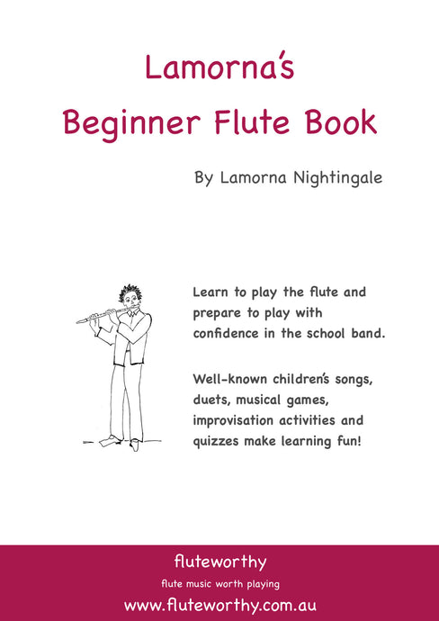 Lamorna's Beginner Flute Book - by Lamorna Nightingale