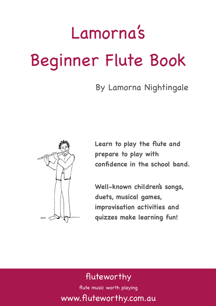 Digital Lamorna's Beginner Flute Book