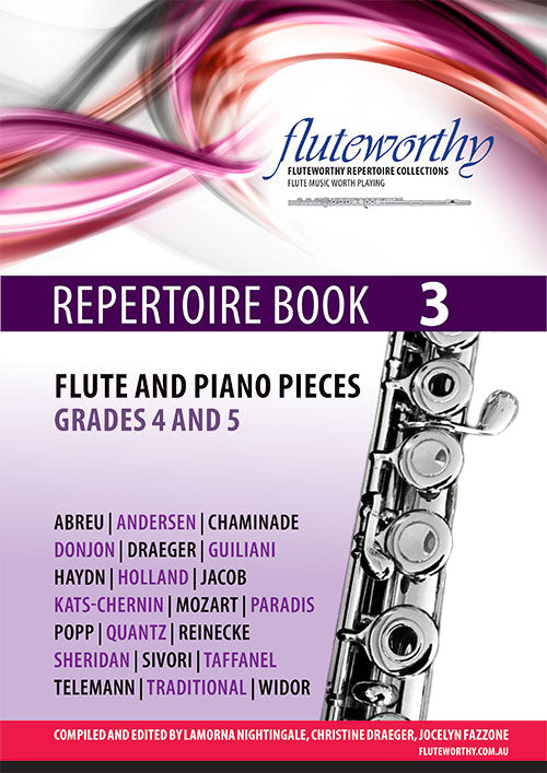 Fluteworthy Repertoire Book 3