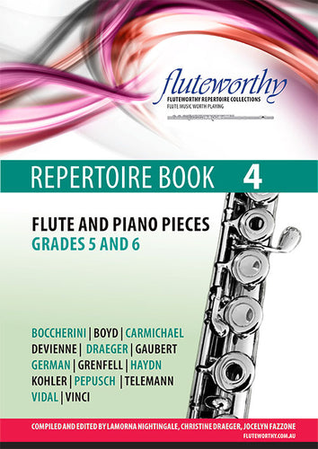Fluteworthy Repertoire Book 4